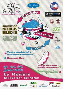 H2O Open Kite United. Au nom de la rose