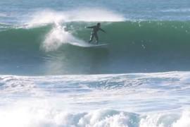 Petite session de surf avant la Rip Curl Narrabeen Classic