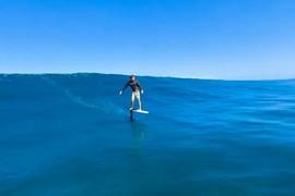 Session de Surf Foil avec la Special Agent de Cabrinha