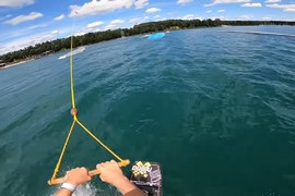 Session allemande avec le wakeboarder JB Oneill !