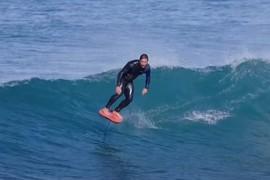 Peyo Lizarazu Surf Foil Session