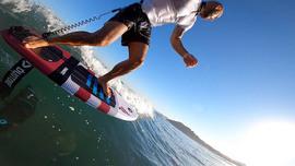 Du surf foil avec Alexandre Grégoire