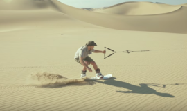 Sandboarding au Pérou