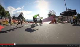 Du boardercross....en skate