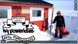 Snowkite en Norvège