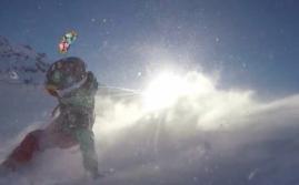 Snowkite Masters 2015. Flash back