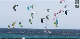Coupe du Monde de kitefoil. Les images