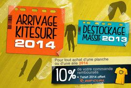 Arrivage 2014 / déstockage 2013
