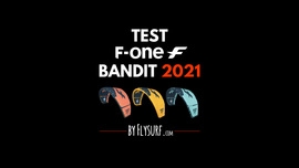 Test Bandit 2021 F-one by Flysurf.com