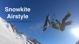 Snowkite Airstyle