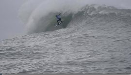 De l'action à Nazaré !