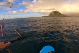 Direction l'île de Manawa au côté de Dmitry Evseev pour tester du matériel