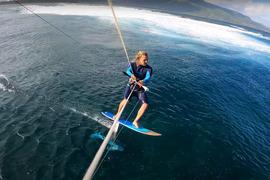 Manawa, un spot de rêve pour les kitesurfeurs !