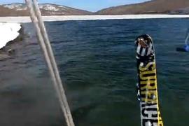 Kitesurf en ski