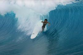 TEAHUPO'O en Longboard