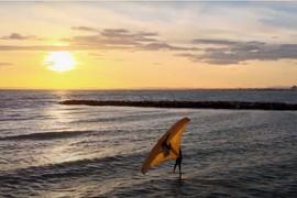 Wing Foil en Méditerranée