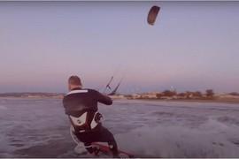 Session avec un rider Flysurf