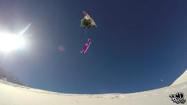 My snowkite daily routine - Webisode #5