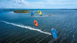 Du kite en Sicile avec le team Cabrinha Italie