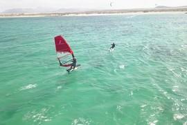Kitefoil et windfoil de concert !