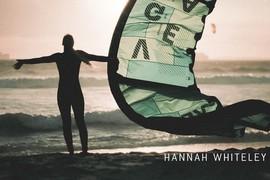 Hannah Whiteley en Afrique du Sud
