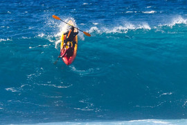 Du kayak à Pipeline !