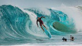 Extreme Shore Break avec Jamie O'Brien