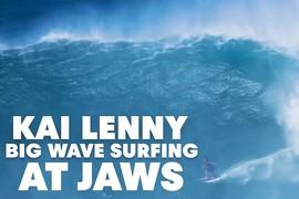 Kai Lenny à Jaws