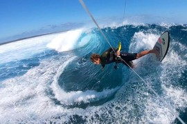Quand Keahi de Aboitiz surfe Cloudbreak