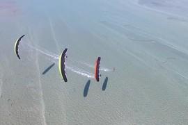 La Flysurfer Sonic 2 en action