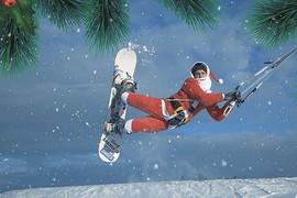 Le Père Noël se chauffe !