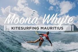Moona Whyte à l'Île Maurice