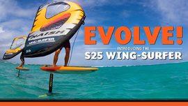 La Naish S25 Wing-Surfer débarque !