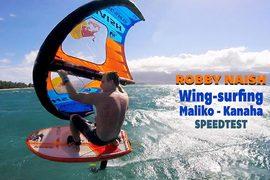 Robby Naish en wingfoil