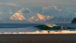 Du surf en Alaska