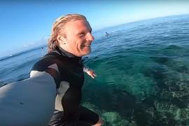 Du foil surfing à l'Île Maurice
