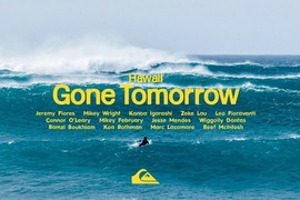 Gone Tomorrow - Hawaii