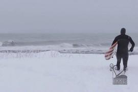 Première neige sur la Côte-Nord