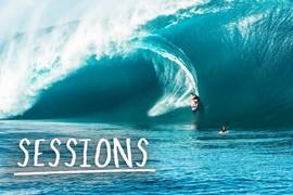 Endless Heavy Waves in Tahiti