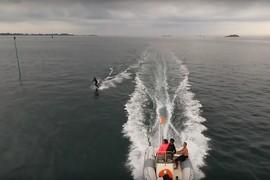La Bretagne, du wake et 1 drone