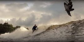 Wakeboard Wave Pool Action / Surf Snowdonia