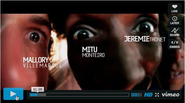 Mitu, Mallory et Jérémy au Cap Vert