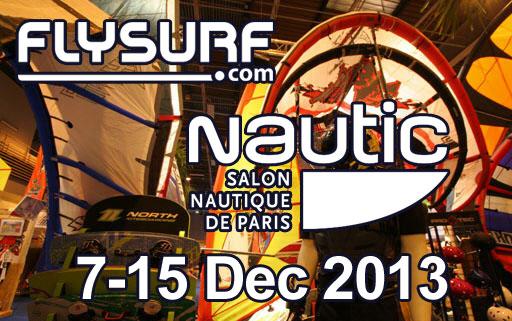 Flysurf.com sera au Nautic de paris!!!
