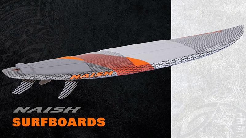 Les surfs Naish 2021 dans les bacs !