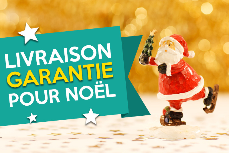 Votre livraison garantie pour Noël !