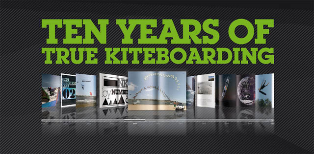 LIVRE TRUE 10 YEARS OF NORTH KITEBOARDING
