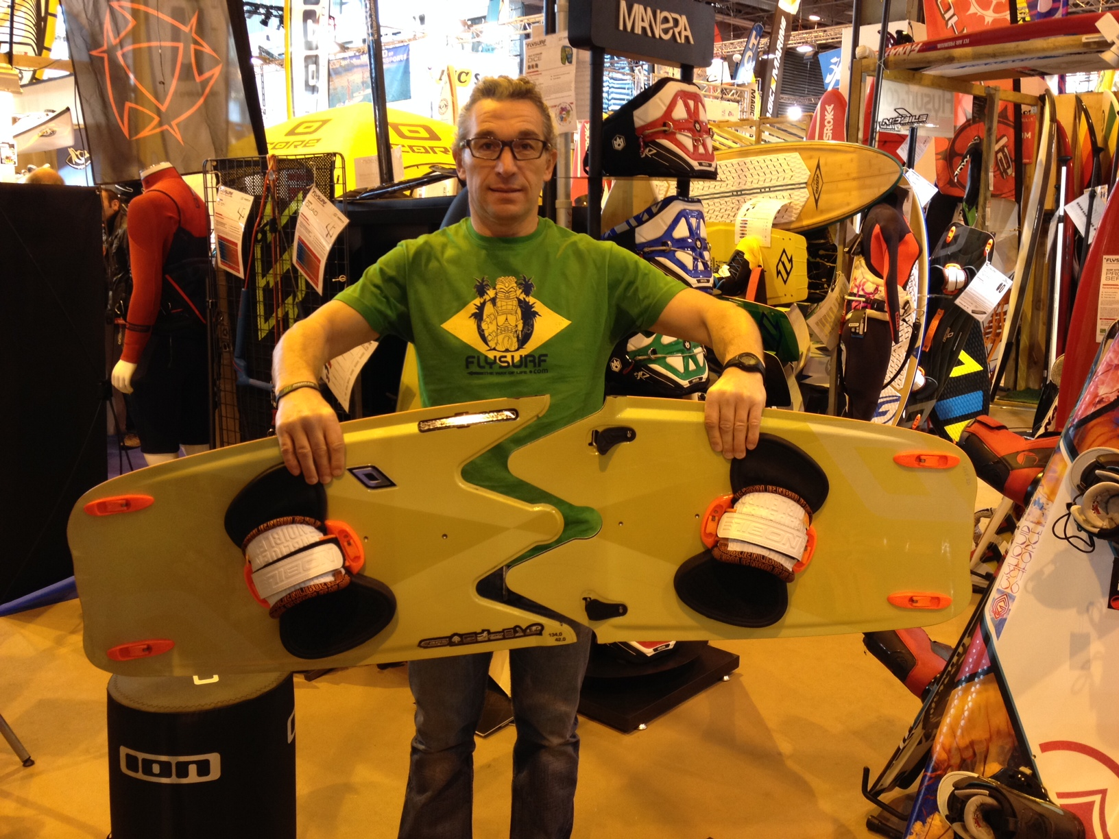 Flysurf au nautic : Nobile Split board