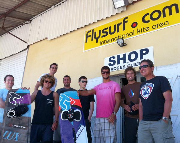 Tous à Beauduc avec la Takoon Family et Flysurf.com, Mallory en Guest Star!