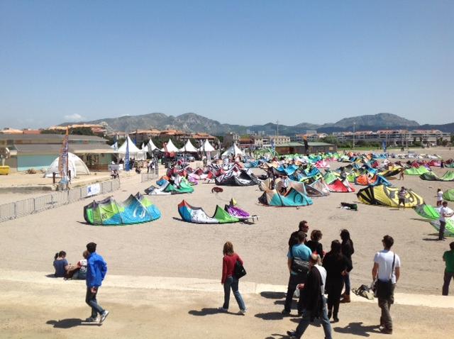 Début de la Race à Marseille