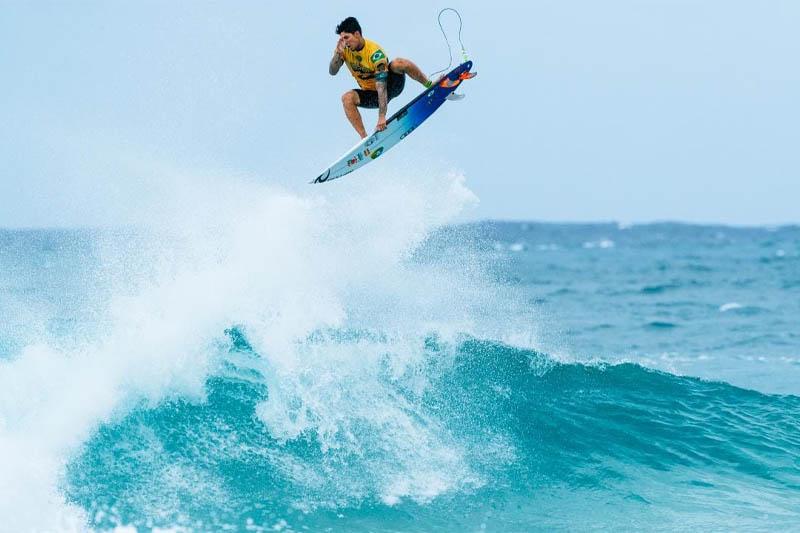 Free surf avec Gabriel Medina